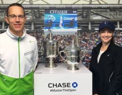 US Open Trophies